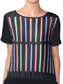 A Weapon Of A More Civilised Age Chiffon Top
