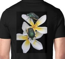 Figeater Beetles Meet For Lunch on the Plumeria! T-Shirt