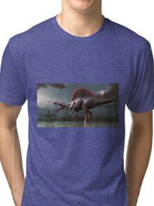 Spinosaurus Tri-blend T-Shirt