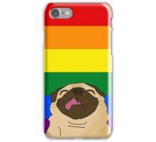 Pride Pug iPhone Case/Skin