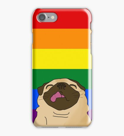Pride Pug iPhone Case/Skin