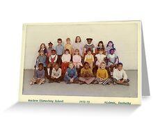 1972-1973, WESTERN ELEM. SCHOOL, HICKMAN, KY Greeting Card
