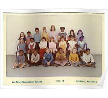 1972-1973, WESTERN ELEM. SCHOOL, HICKMAN, KY Poster