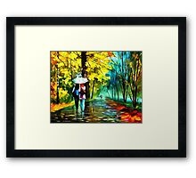 Drizzle of Emotions Framed Print