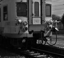 Just a train at the railway station by G-Design