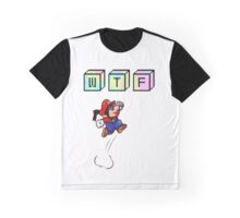 Wtf Mario Graphic T-Shirt