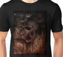 old industrial gears shady Unisex T-Shirt