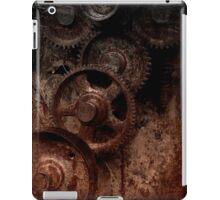 old industrial gears shady iPad Case/Skin