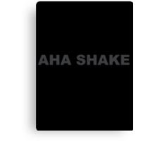 Aha shake products Canvas Print