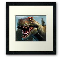 Tyrannosaurus Head Study Version II Framed Print
