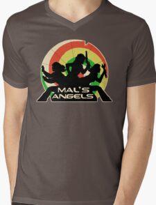 Mal's Angels Mens V-Neck T-Shirt
