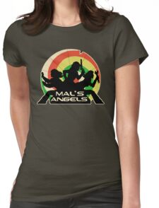 Mal's Angels Womens Fitted T-Shirt