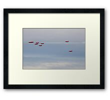 Out of the Blue they came............Dorset UK Framed Print