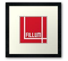 I Love Irish Movies - Fillum 4 Framed Print