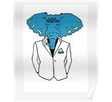 Classy Elephant  Poster