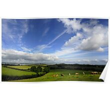 Rolling Hills of County Down Poster