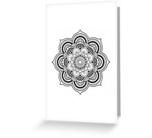 Lotus Mandala Greeting Card