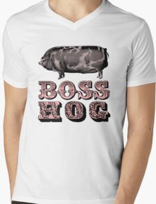 Boss Hog Mens V-Neck T-Shirt