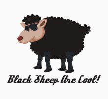 Chinese New Year Black Sheep Are Cool Kids Tee