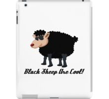 Chinese New Year Black Sheep Are Cool iPad Case/Skin