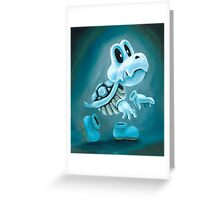 Dry Bones Greeting Card