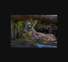 Baby Deer At Amaru Unisex T-Shirt