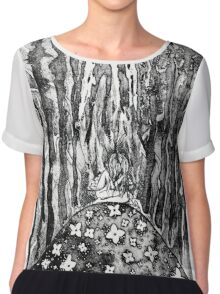 Despair of Gaia Chiffon Top