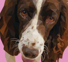 Millie, Springer Spaniel Sticker