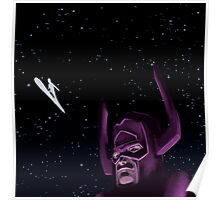 Galactus And the Silver Surfer Poster