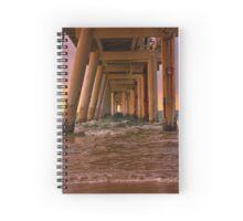 Rainbow pier Spiral Notebook