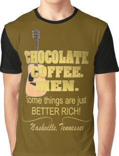 In Nashville Things Are Better Rich Graphic T-Shirt