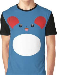 Pokemon - Marill / Maril Graphic T-Shirt