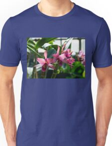 Luminosity in Pink - Fabulously Glowing Orchids Unisex T-Shirt