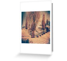 Mauerpark Berlin by bettibobikepunk Greeting Card