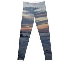 Sunset beach Leggings