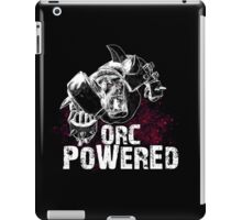 Orc Powered! iPad Case/Skin