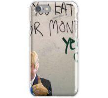 Eat your money, Boris iPhone Case/Skin