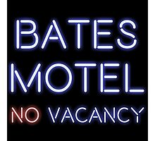 No Vacancy in This Motel Photographic Print