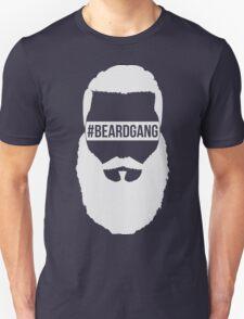 #BeardGang Full Beard (White) Unisex T-Shirt