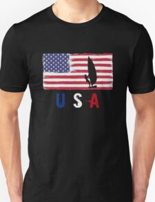 USA Sailing 2016 competition yachting funny t-shirt Unisex T-Shirt