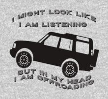 Listening but Off-Road Baby Tee