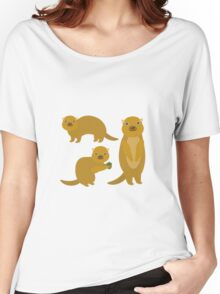 Squirrels with an Acorn Women's Relaxed Fit T-Shirt