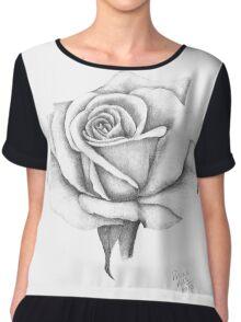 A Roses Beauty Chiffon Top