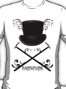 Top Hat and Canes T Shirt Black T-Shirt