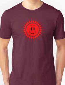 Guitars red Unisex T-Shirt