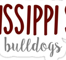 Mississippi State University Sticker