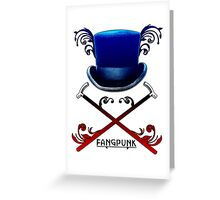 Top Hat and Canes Greeting Card