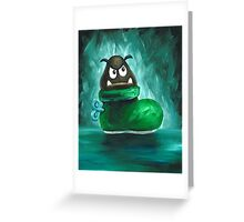 Kuribo / Goomba's Shoe Greeting Card