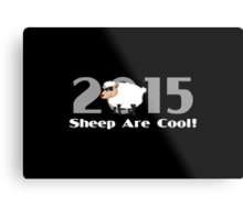 Chinese New Year of The Sheep Goat Ram Metal Print