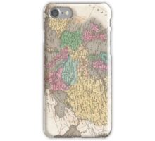 Vintage Map of Europe (1827) iPhone Case/Skin